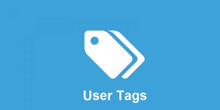 افزودنی User Tags