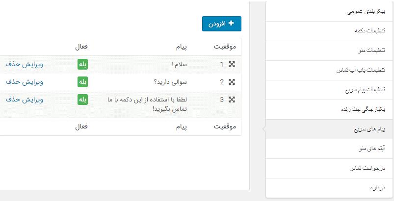 امکان سفارشی سازی کامل پیام سریع نمایش به کاربر در ورود به سایت